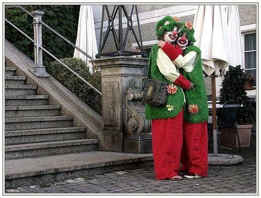 """Unsere"" Clowns"