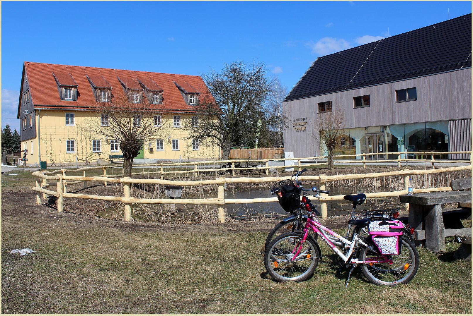 Unsere erste Radtour 2013 ...
