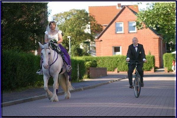 Unsere Hochzeit am 14.08.04 auf der Insel Wangerooge