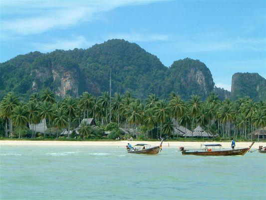 Unsere Hotelanlage auf Kho Phi Phi