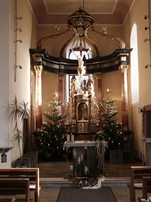 Unsere Kirche an Weihnachten