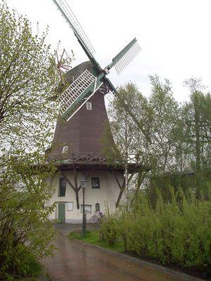 Unsere Mühle in Larrelt Emden