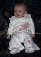 Unsere Tochter an Weihnachten 2003... :-)