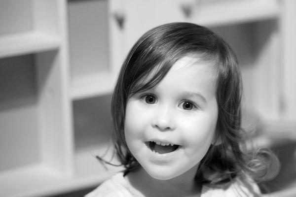 Unsere Tochter und die Kamera