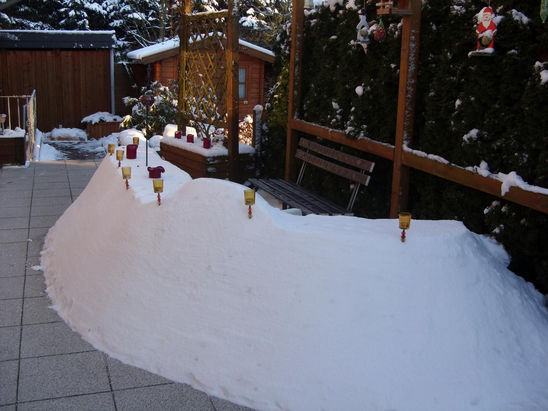 Unsere  Wunderschöne Schneebar...
