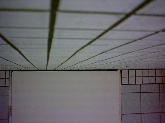 unsinniges Bild einer Türe
