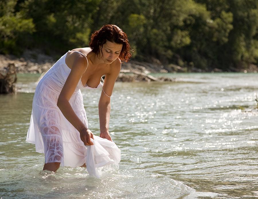 Unten am Fluss - Bild & Foto von Klaus Mittmann aus fc
