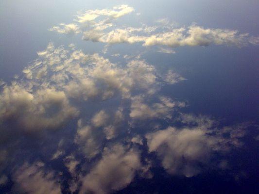 unten über den wolken