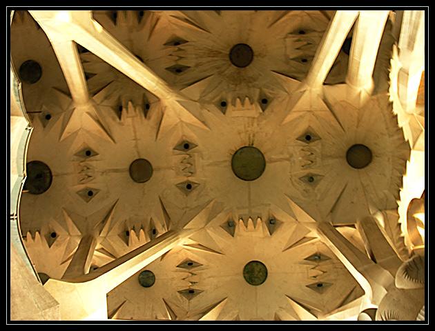 unter Baumkronen (La Sagrada Familia 3)