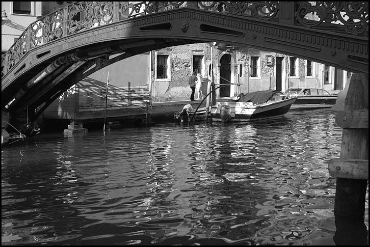 Unter Brücken ....