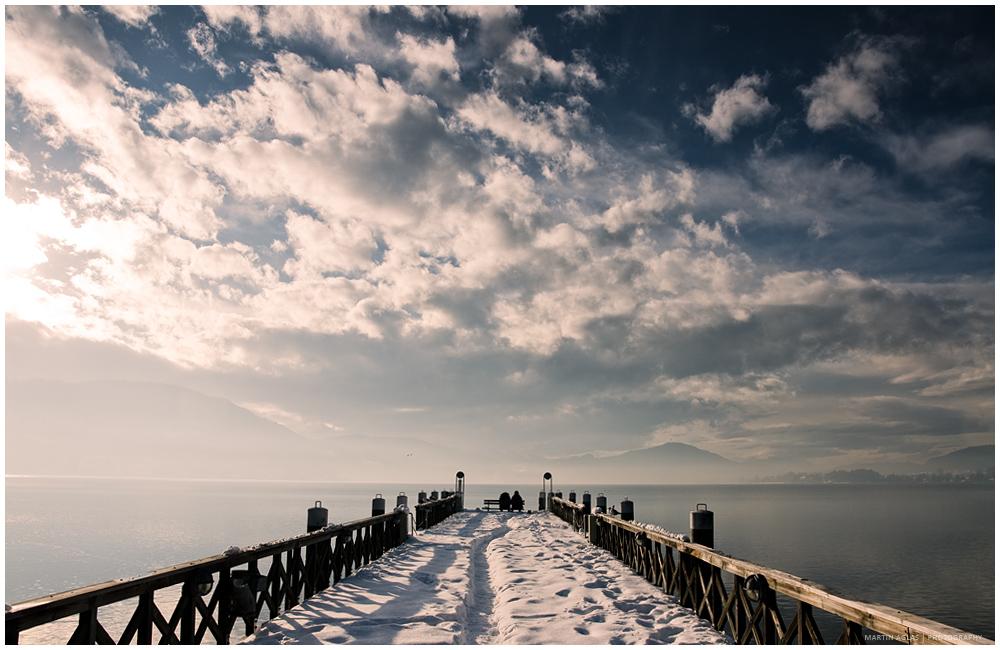 Unter dem Himmel des Winters