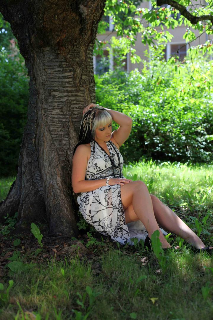 Unter dem Kirschbaum