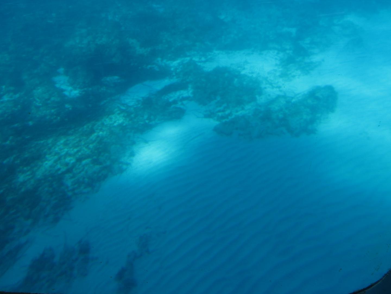 Unter dem Meeresspiegel