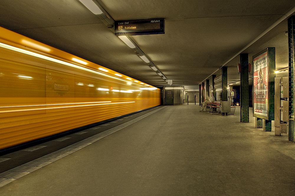Unter dem Potsdamer Platz