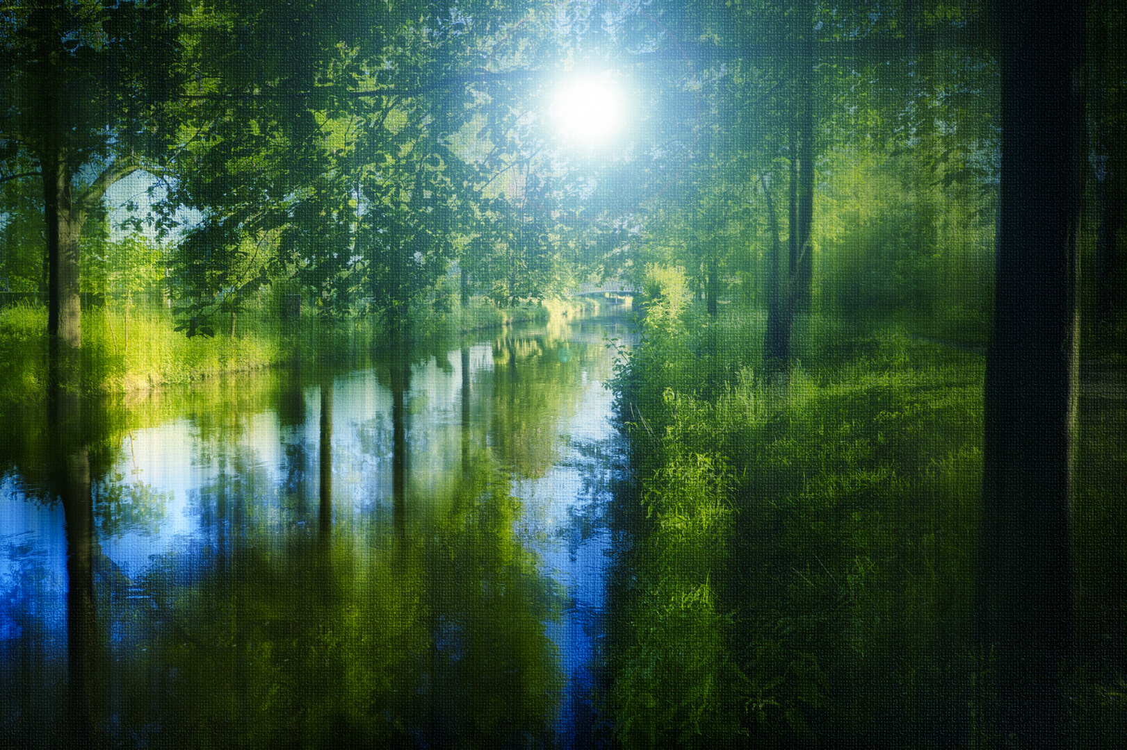 Unter dem Schatten der Bäume