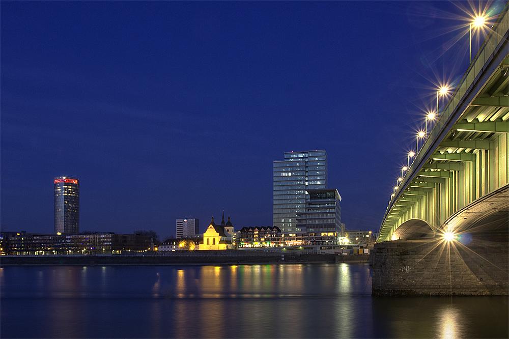 Unter der Brücke....