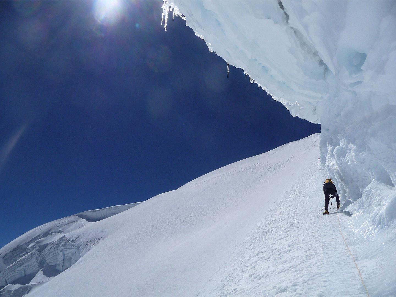 Unter der Eiswechte