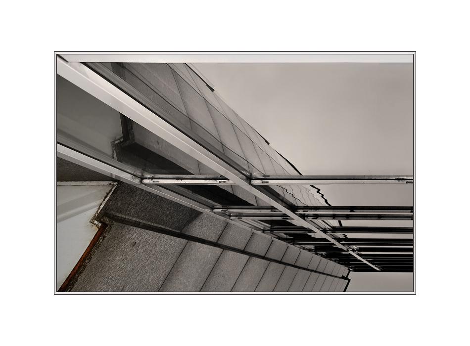 Unter der Fassade