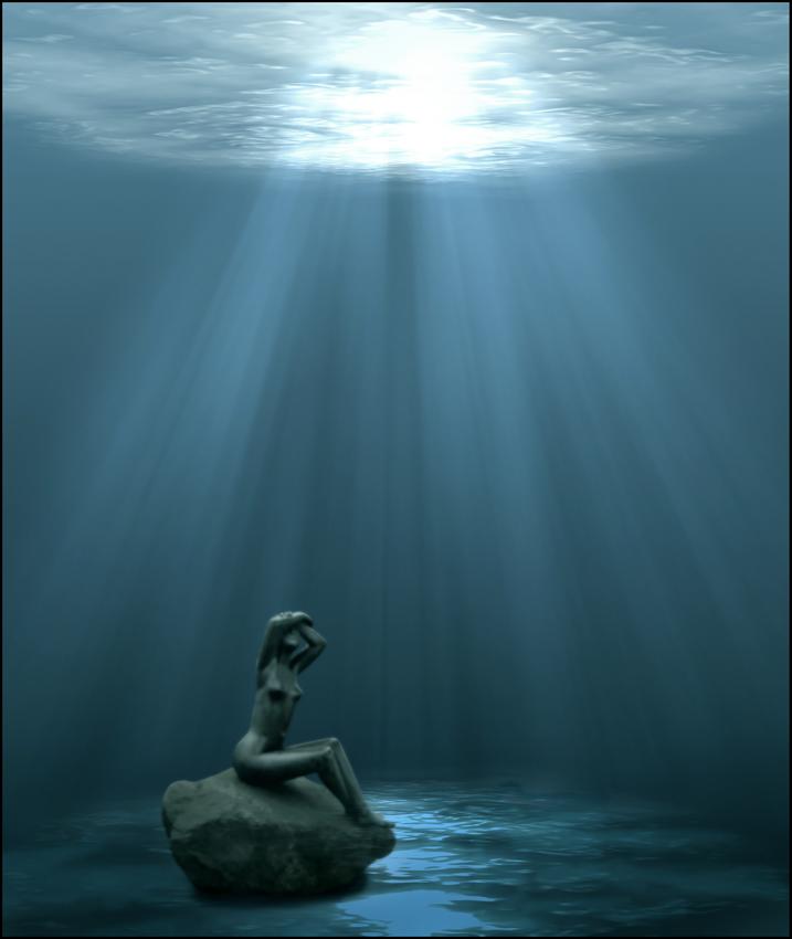 Unter der Oberfläche hat Sie die Sehnsucht nach Leben
