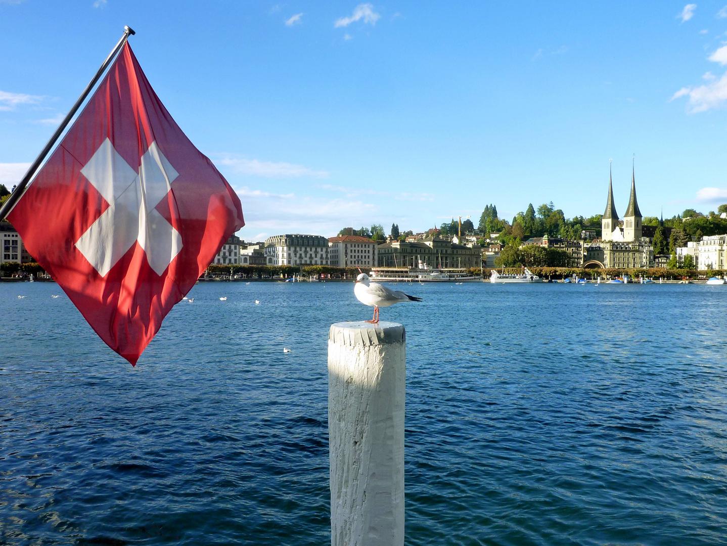 Unter schweizer Flagge ...