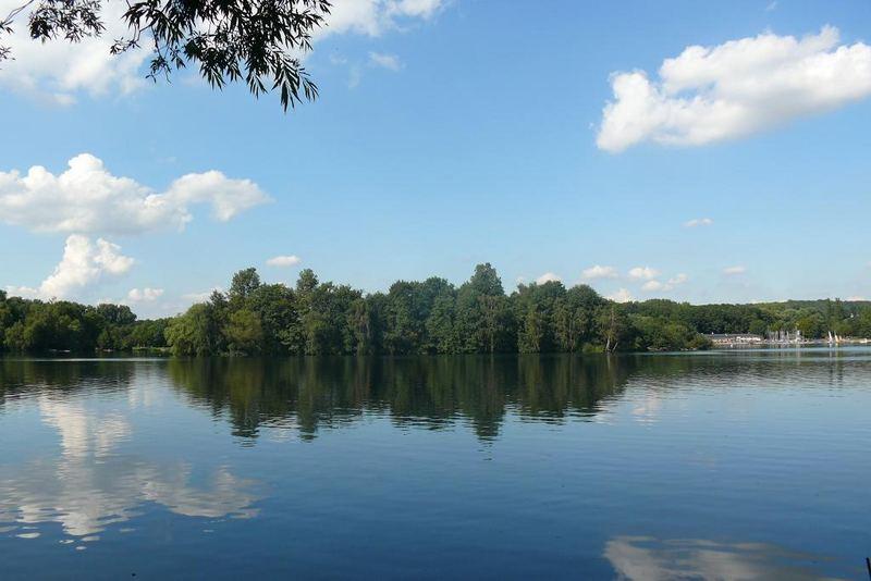 Unterbacher See in Düsseldorf (1)