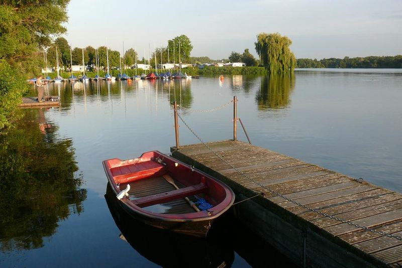 Unterbacher See In D Sseldorf 4 Foto Bild