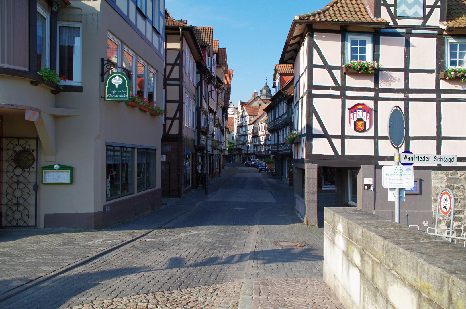 Untere Lange Strasse von Werrabrücke