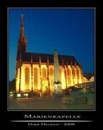 Unterer Markt Würzburg, Marienkapelle und Obelisk als HDRI