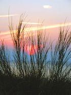 Untergang der Sonne an der Ostsee