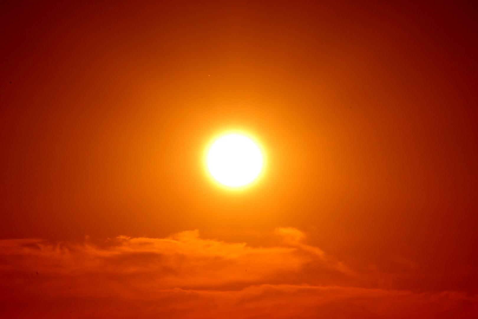 Untergang der Sonne...