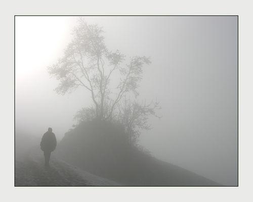 unterhalb der Nebelgrenze