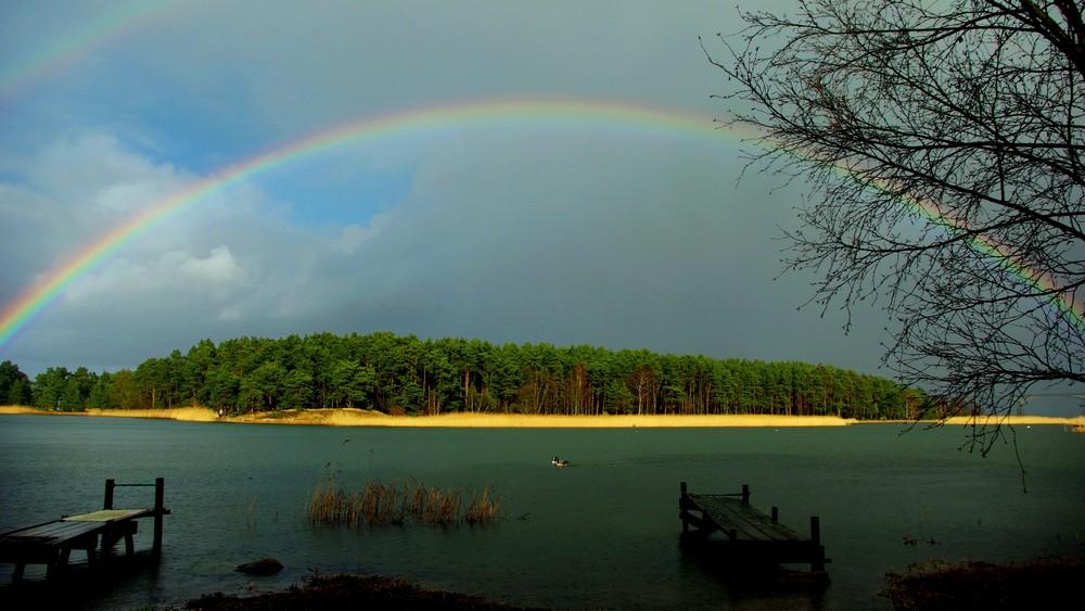 Unterm Regenbogen...