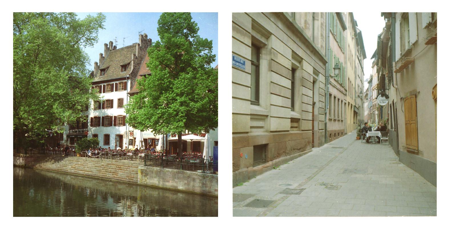 Unterschiedlich Essen in Strasbourg
