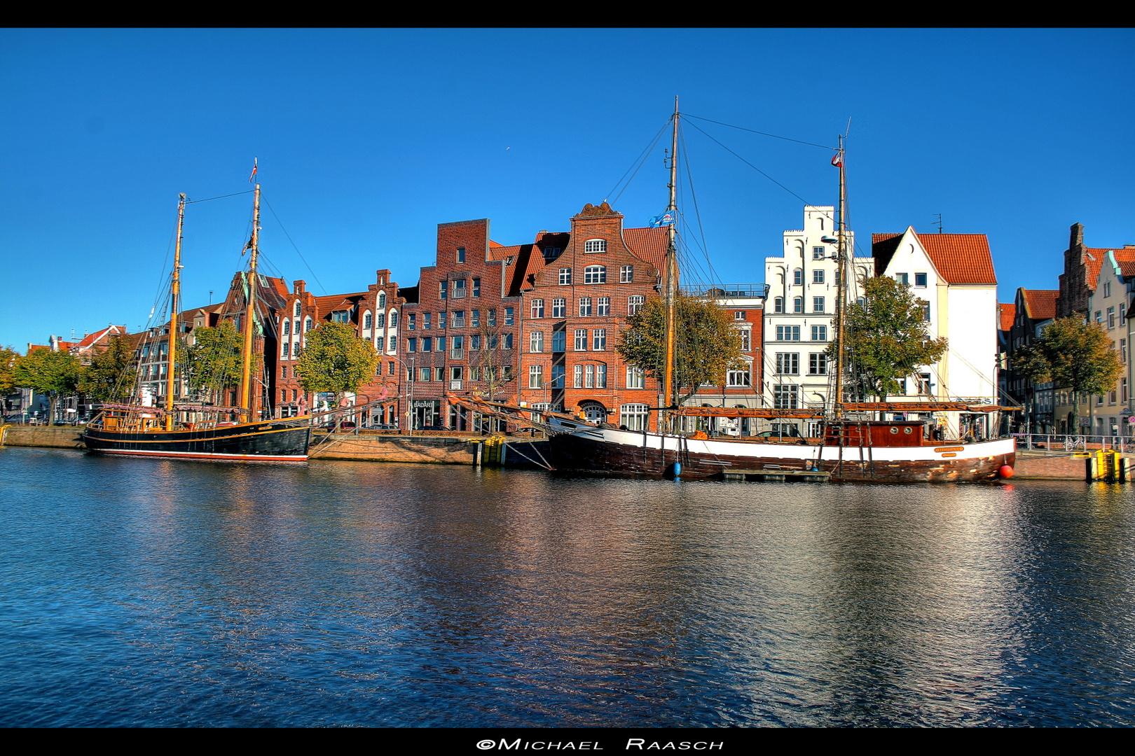 Untertrave in Lübeck
