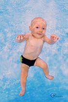 unterwasser fotografie baby - babyschwimmen