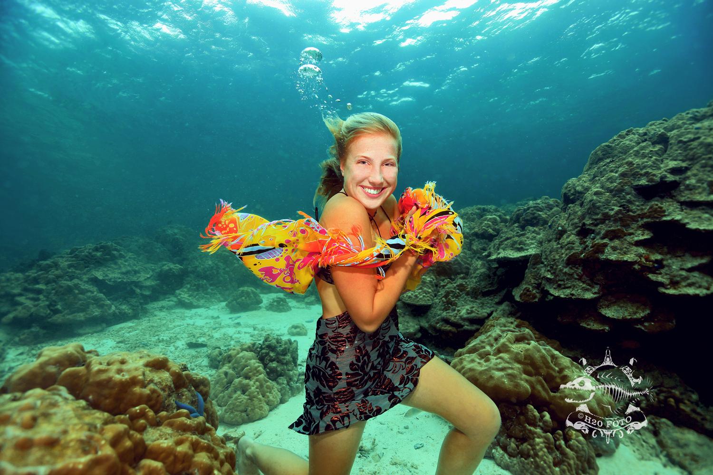 Unterwasser Model...