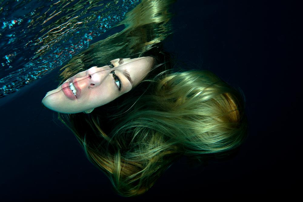 Unterwasser Portrait