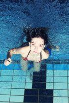 + Unterwasser Portrait + Jenny +