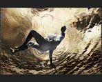 Unterwasserfotos - Unterwasserfotoshooting - Underwaterphotography / Der Rückenschwimmer