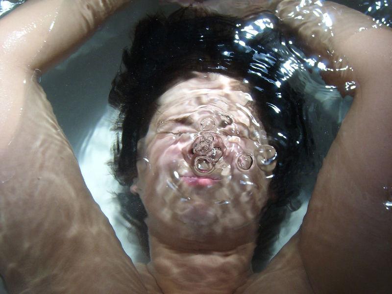 Unterwassermodel