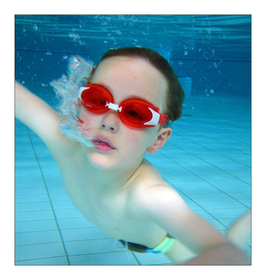 Unterwasserportrait