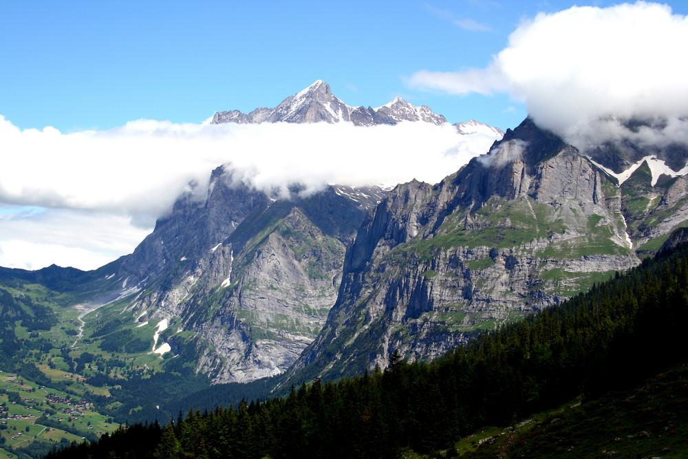 Unterwegs auf dem Eiger Trail
