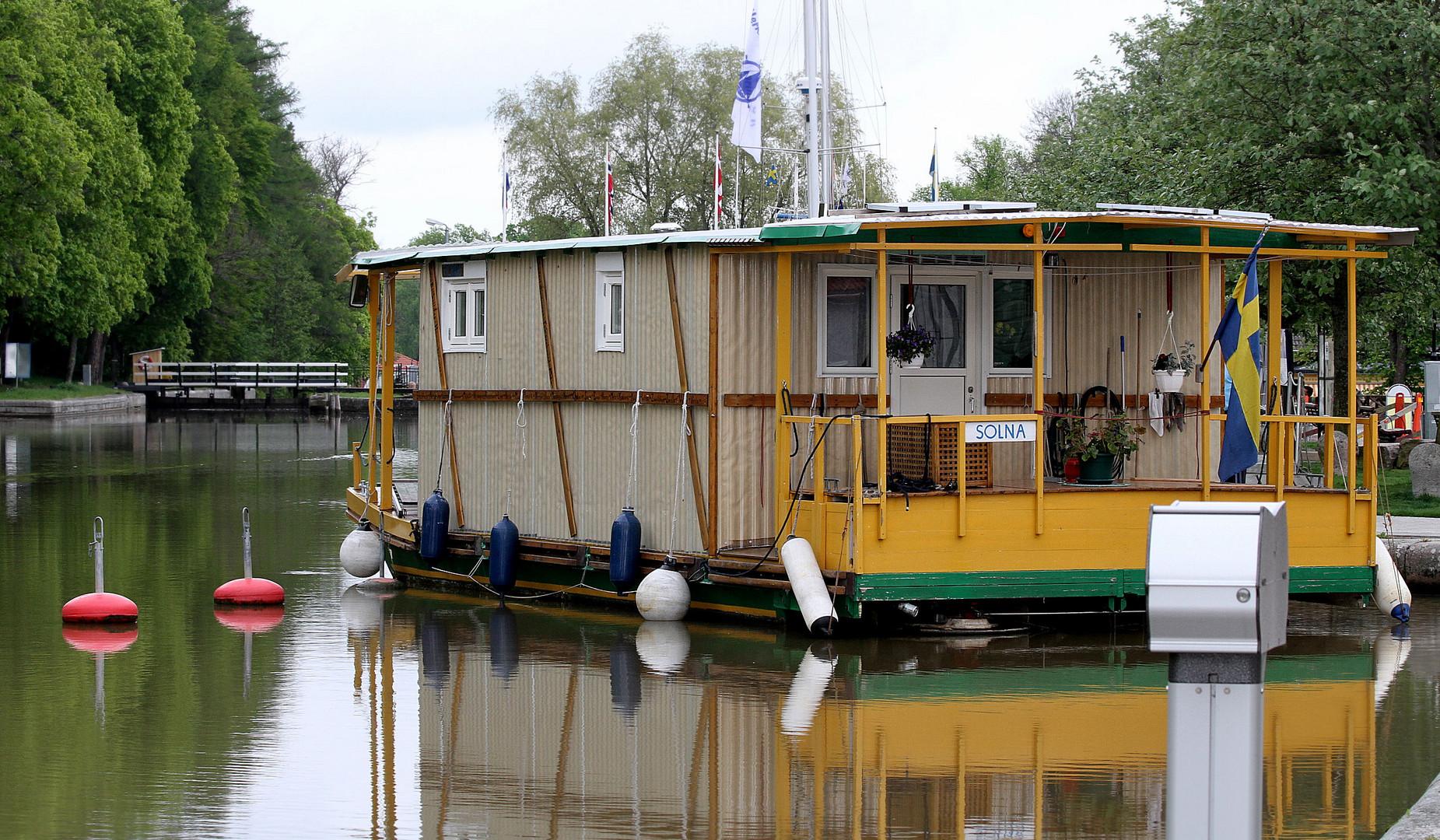 Unterwegs auf dem Götakanal....................