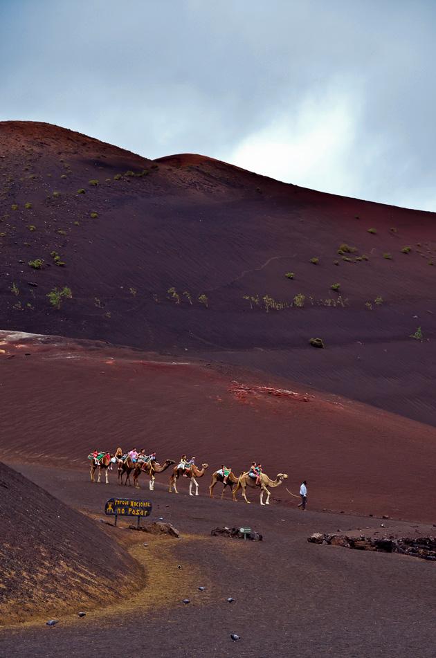 Unterwegs auf dem Vulkan