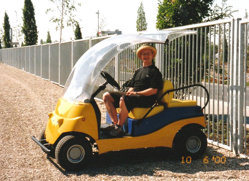 Unterwegs auf der EXPO 2000
