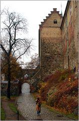 ... unterwegs auf der Festung Akershus ....