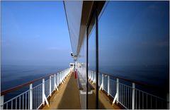 ... unterwegs auf der Ostsee ...
