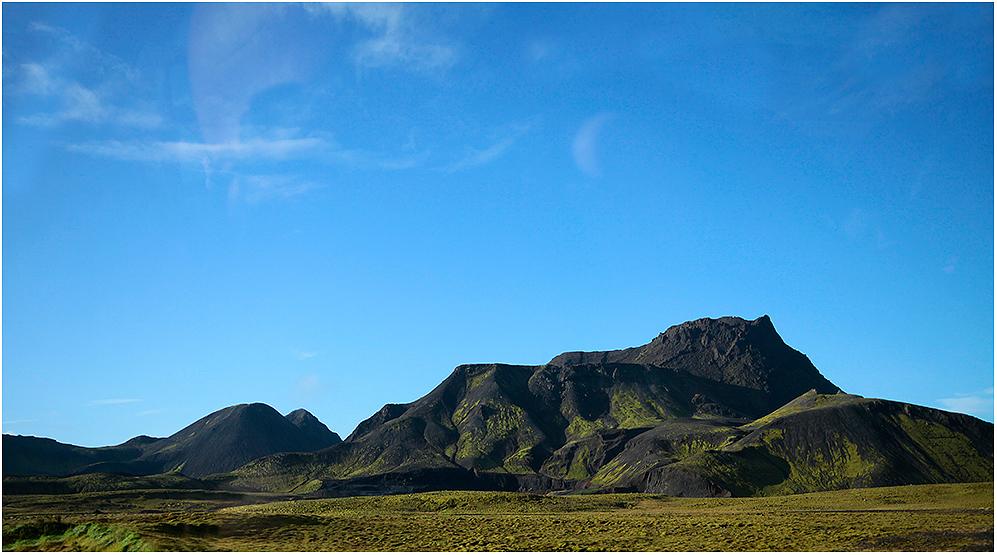 ...unterwegs auf Island ...
