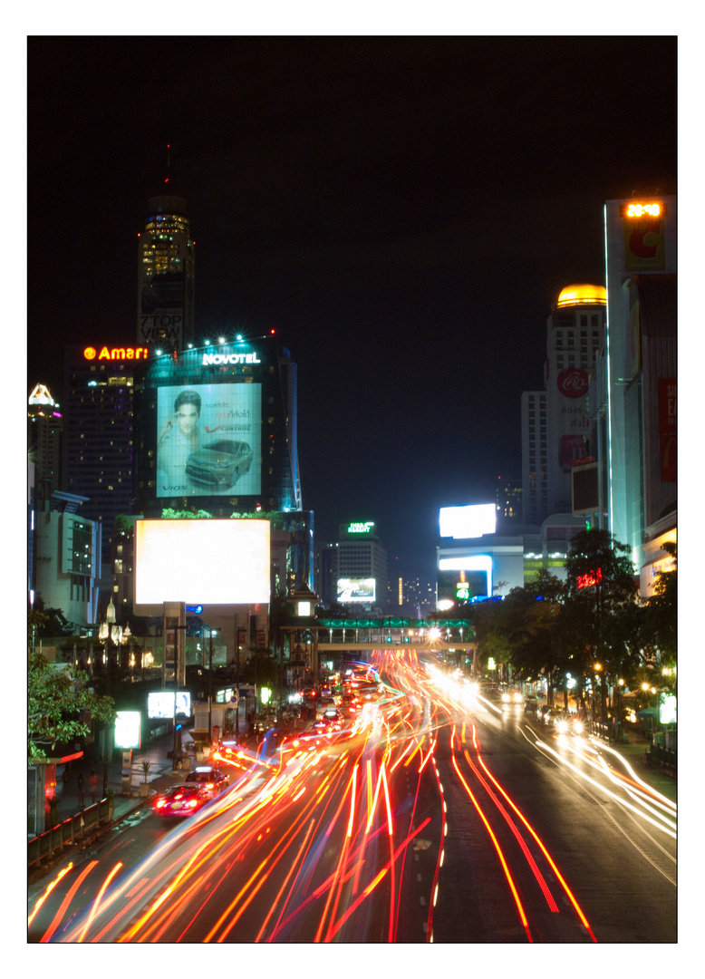 Unterwegs - Bangkok bei Nacht III