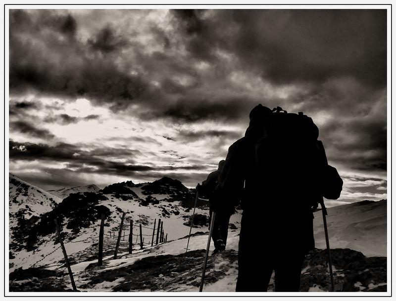 Unterwegs im alpinen Gelände